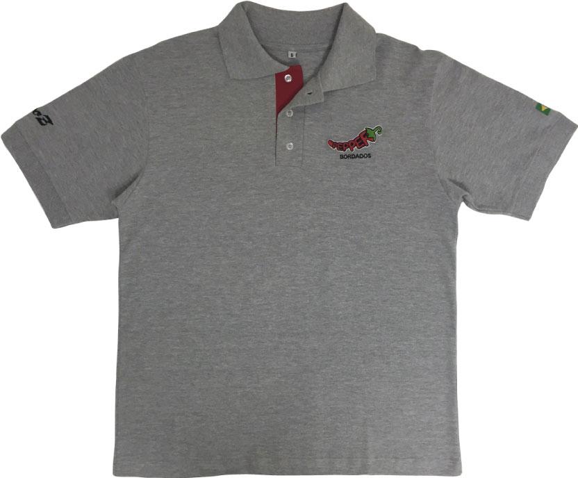 Camisa Polo Bordada - Pepper Bordados   Criações cab4bb13633